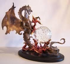 franklin mint dragon