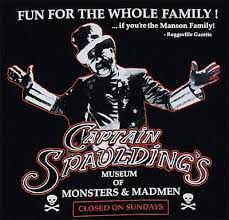 captain spaulding t shirts