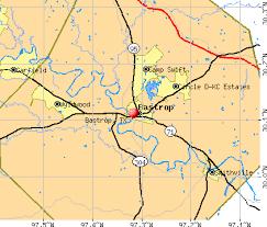 Bastrop, TX map