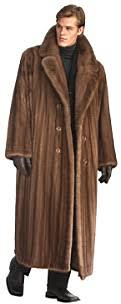 men mink coat