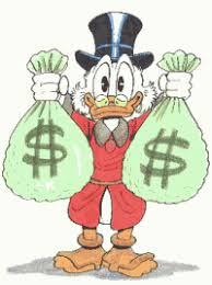 money bags cartoon