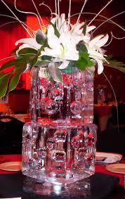 ice centerpiece