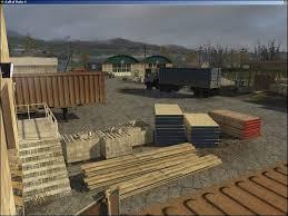 the lumber yard