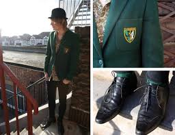 school boy blazer