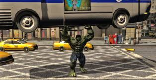incredible hulk game