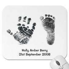 baby hands prints