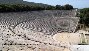 greek amphitheatres