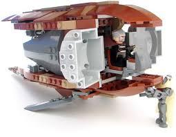lego count dooku solar sailer