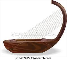 musical instruments harp