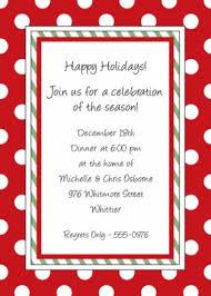 sample christmas invitations