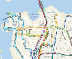 queens bus map