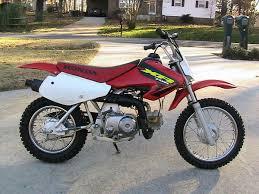 honda xr100 dirt bike