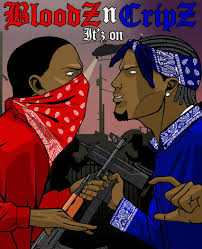 crips and bloods fights