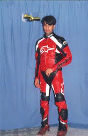 bike leather suit