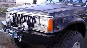 jeep cherokee xj bumper