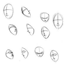 human face drawings
