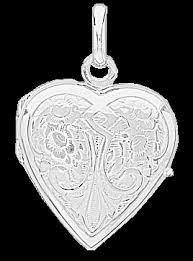 pendentif coeur porte photo