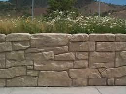 decorative concrete wall