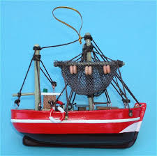 model fishing trawler