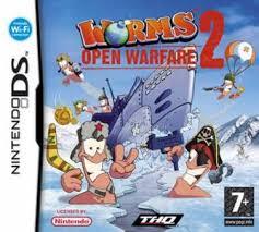nintendo ds worms open warfare