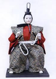 japanese samurai doll