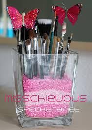 makeup brush caddy