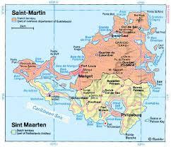 saint maarten map