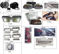 avanza accessories
