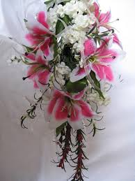 stargazer lily wedding flowers