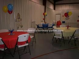 circus birthday parties