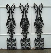 cast iron banisters