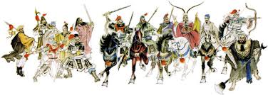 ancient warriors pictures