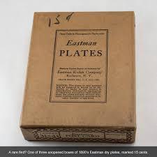 1890s Eastman Kodak Glass Dry