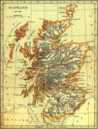 old map scotland