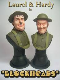 laurel and hardy blockheads