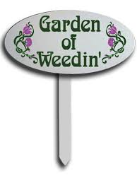 gardening signs