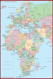 east africa maps