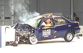 car test crashes