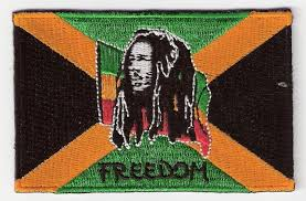 bob marley jamaican flag