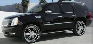 chrome cadillac rims