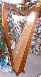 christmas harp