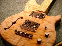 luthier electric guitar