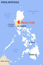 map of nueva ecija