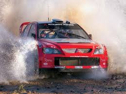mitsubishi evolution rally