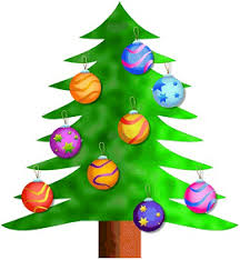 clipart christmas trees