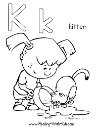 coloring pages kitten