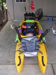 rigged fishing kayaks