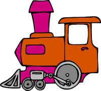 free train clipart