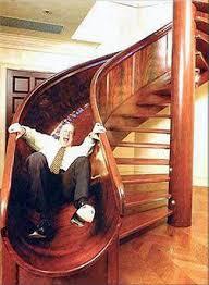 sliding staircase