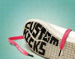 custom kicks book